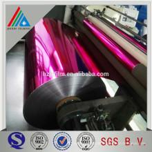 Metallisierte Farbschichtfolie Lack Polyester Aluminium Glitzer Pulver