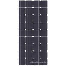 Panel monocristalino Soalr de alta eficiencia 100W con CE y TUV e ISO