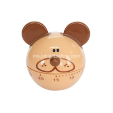 Custom Bear Shaped Kitchen Timers
