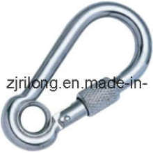 Snap Hook with Eyelet and Screw Dr-Z0023
