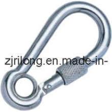 Крючок-защелка с ушком и винтом Dr-Z0023