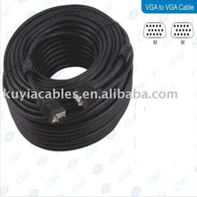 100FT Standard SVGA CABLE M to M 15 Pin SVGA VGA Cable For PC Projector 30 Meter