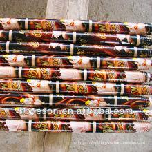 2.5*120cm natural wooden broom handle sticks