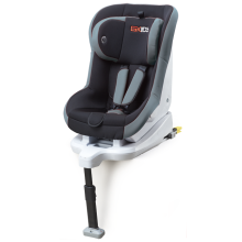 Baby car seats with orange-red cover