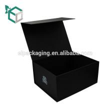 Цена заводская краска, через черный мягкое касание Складная Магнитная Коробка подарка