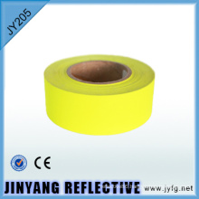 color high visibility reflective polyester fabric