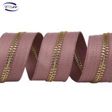 Various Good Quality polyester+metal teeth zipper long chain