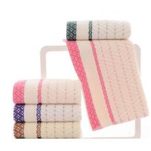 Wholesale Cotton Towel, Yarn Jacquard Towel, Supermarket Towel