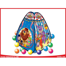 outdoor Toys Kids Play Tents Circus King Tent with 80PCS Balls