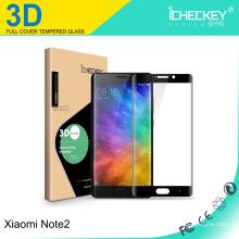 ¡El más nuevo! Protector de pantalla de cristal templado de cobertura total curvo 3D para Xiaomi Note2