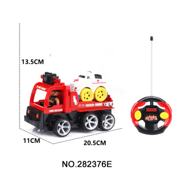 4CH Assemble RC Fire Car Toddler Toys