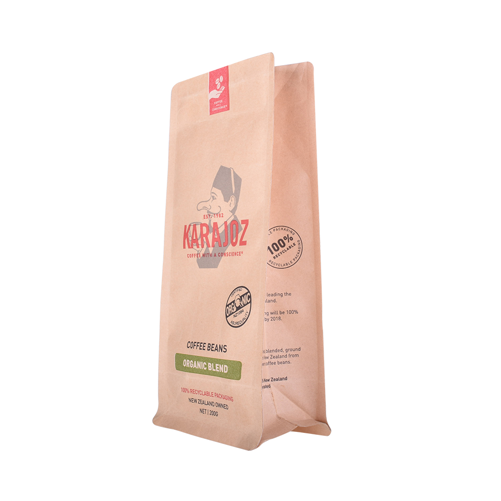 Compostable paper bag