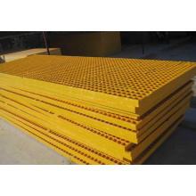Customized Plastic Mesh Floor/Plastic Drainage Grate Plain Style Steel Grating