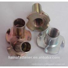 DIN1624 углеродистая сталь четыре орега Prongs Оцинкованная