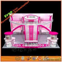 Exhibición del soporte de la cabina de exhibición del servicio de diseño de exposición de feria