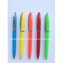 Giro bolígrafo promocional de plástico (P2018A)