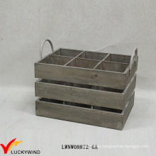 Rustic Used Looking Wine Wooden Crates