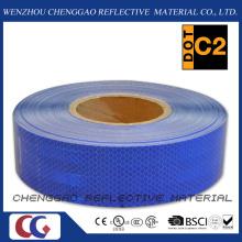Diamante azul da classe fita reflexiva retrô para o tráfego (CG5700-OB)
