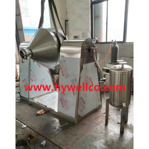 Vacuum Drier Putar Tapered Ganda