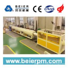 Máquina da extrusão da máquina plástica do tubo / tubulação do PVC / PE / PP de 160-450mm