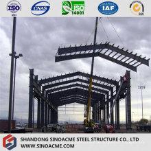 Heavy Steel Frame Shed para oficina com ponte rolante