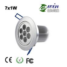 Downlight LED de alta potencia (EW-DLSMD-7W)
