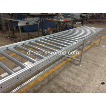 Kundenspezifisches Pallet Power Roller Conveyor System