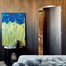 Оптовые деревянные антикварные невидимые двери для ванной комнаты