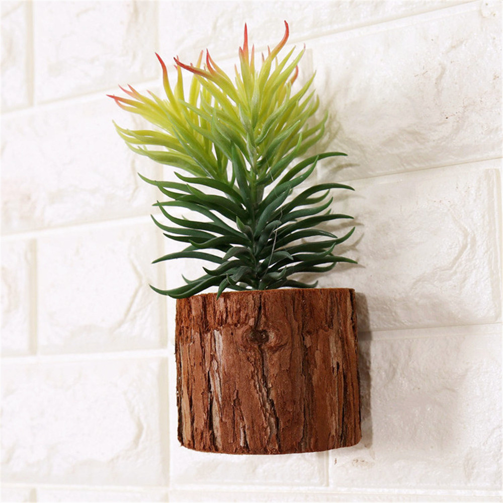 plant wooden wall decoration