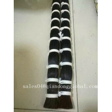 Natural Black Monglian Stallion Horse Tail Hair