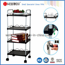 Adjustable Powder Coating Performated Metal Board Trolley with Low Price
