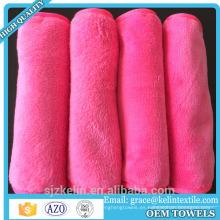Productos más populares toalla removedor de maquillaje de china / paño de limpieza de maquillaje reutilizable