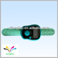 2012 hot sale green color muslin promotion gift finger tally counter