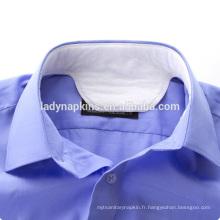 collier de chemise jetable, fait de non tissé, airlaid et feuille de dos de PE Coussin de col / tapis de col / collier capitonné