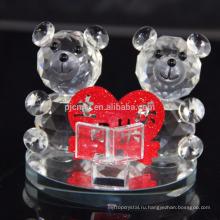 Мода Хрустальный Медведь фигурки для свадебного подарка