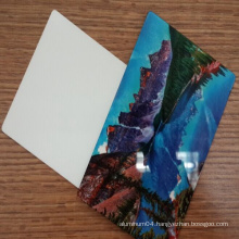 1.0mm Sublimation Aluminum Sheet for Graphics Photo Printing