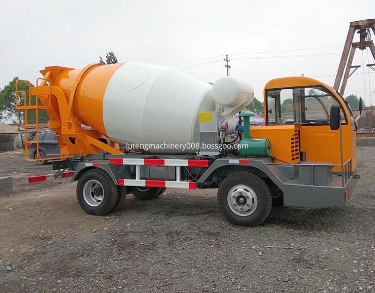 Construction Machinery Concrete Mixer