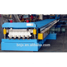 Buen precio China ondulado perfil de perfil de la azotea que forma la máquina