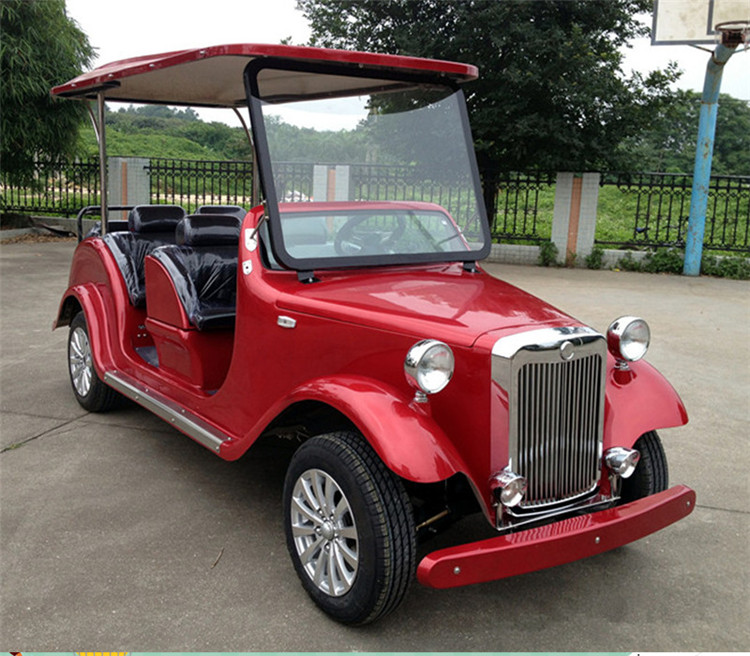 gas powered classic golf cart