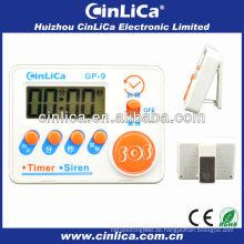 Billig LCD Sirene & Timer, Mini digitale Küche Sirene & Timer, elektronische Küche Timer mit Magnet