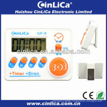 cheap LCD siren&timer, mini digital kitchen siren&timer,electronic kitchen timer with magnet