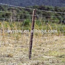 Panneaux de clôture portatifs de PVC, clôture en gros de lien de chaîne, barrière de ferme bon marché