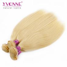 Farbe 613 peruanische blonde menschliche Haarwebart