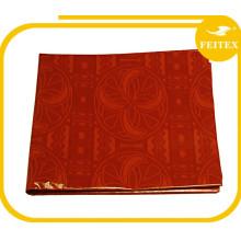Damassé Nouveau Coton Brocade Nigéria Mode Style En Gros Africain Bazin Tissu Achats En Ligne