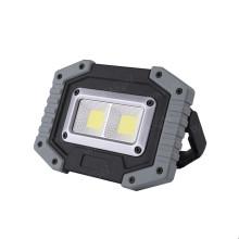 Lâmpada de trabalho impermeável portátil de luz de inundação COB