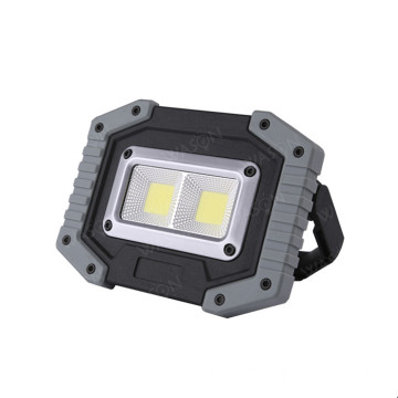 Tragbare COB Flood Light wasserdichte Arbeitslampe
