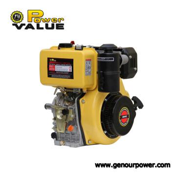 Arranque eléctrico del motor diesel del nuevo diseño, pequeño generador del motor para la venta