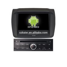 Reproductor de DVD del coche de Android 8 and 8 pulgadas GPS para Mitsubishi L200 bajo nivel con GPS gps coche espejo