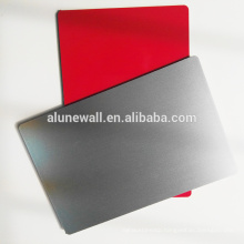 High glossy brushed coating unbroken core aluminum composite panel for wall cladding decoration
