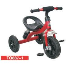 Hermoso diseño de triciclo de bebé con neumático de aire